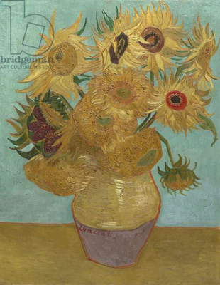 Sunflowers, 1888 or 1889 (oil on canvas)