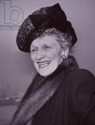 Lady Nancy Astor, 1947 (b/w photo)