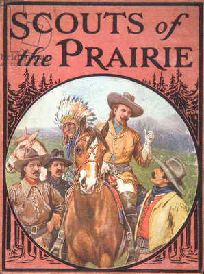 Scouts of the Prairie, c.1900 (colour litho)