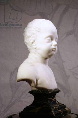 Bust of Lord Harley, c.1725 (marble)