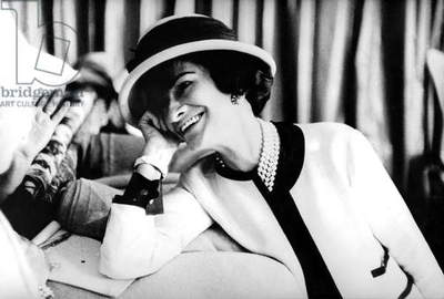 fashion designer Coco Chanel (1883-1971) , c. early 50's