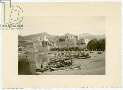 A view of Collioure, France, c. 1950