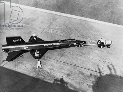 North American X-15 of Nasa Hypersonic Research Program in 1959-1968
