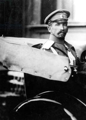 Lavr Georgievitch Kornilof (1870-1918) russian officer during russian revolution october 1917