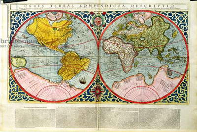 T804 Map of the World, from the