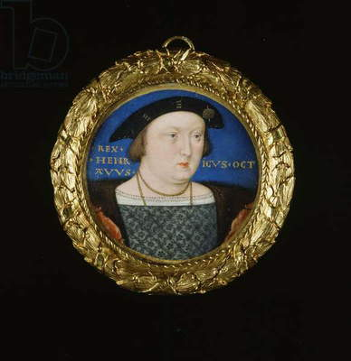 Henry VIII, c.1525-27 (w/c & bodycolour on vellum)