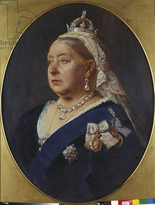 Queen Victoria, 1870 (oil on canvas)