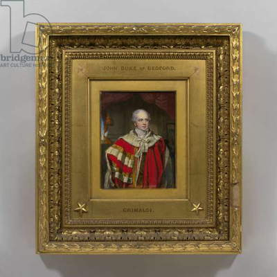 John Russell, 6th Duke of Bedford, 1800 (w/c on ivory)
