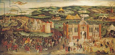 The Field of the Cloth of Gold, c.1545 (oil on canvas)