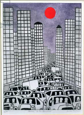 Avenue of the Americas, 1984 (print)