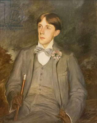 Aubrey Vincent Beardsley, 1895 (oil on canvas)