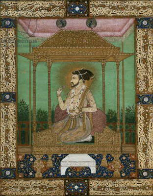 Emperor Khurram (Shah Jahan) (1592-1666), Jahangir Period, Mughal (copy of a 17th century painting)