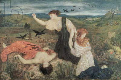 Antigone from 'Antigone' by Sophocles (oil on canvas)
