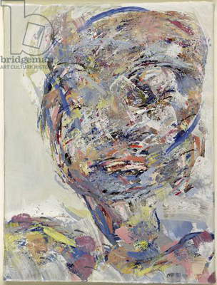Head of a woman, 1999 (oil on canvas)
