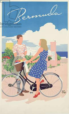 Poster advertising Bermuda, c.1956 (colour litho)