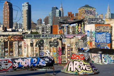 Graffiti Lovers, New York, USA (photo)