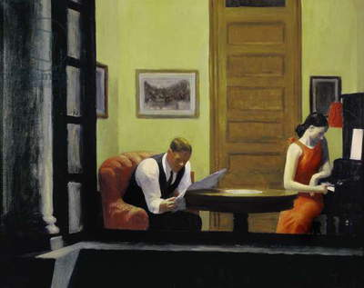 Room in New York, 1932 (oil on canvas)