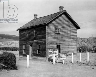 Boyhood home of Buffalo Bill, Wyoming, USA