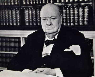Winston Churchill British Prime Minister (1874-1965)