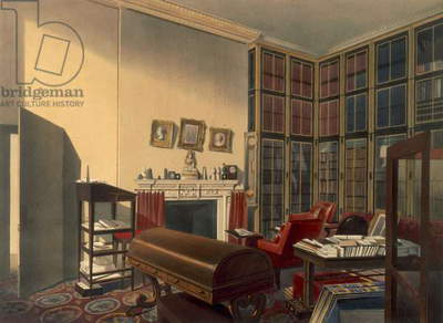 Duke's Own Room, Apsley House, by T. Boys (colour litho)
