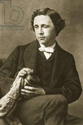 Portrait of Lewis Carroll, 28th March 1863 (sepia photo)