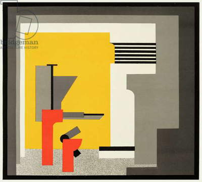 Bauhaus Design (colour litho)