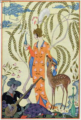 Persia, illustration from 'The Art of Perfume', pub. 1912 (pochoir print)