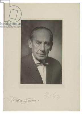 Walter Gropius (b/w photo)