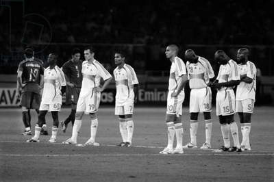 FIFA World Cup 2006 (b/w photo)