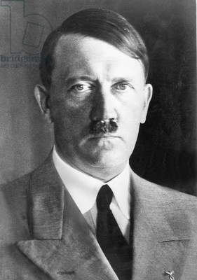 Adolf Hitler, 1937 (b/w photo)