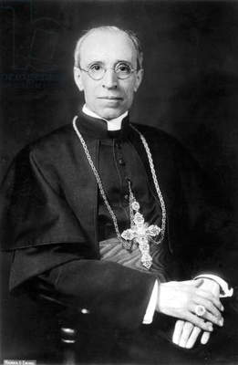 Pope Pius XII. (b/w photo)