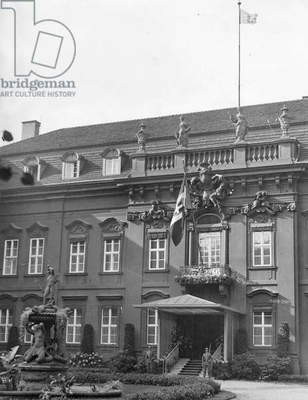 Palace of the Reich President in Berlin, 1935 (b/w photo)