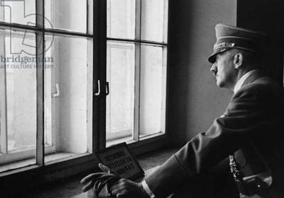 Adolf Hitler in Poland, 1939 (b/w photo)