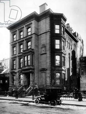 Rockefeller family home built in the 1880's and standing where the MOMA is now in NYC New York