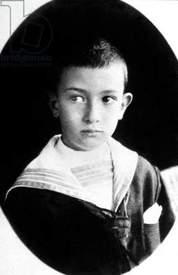 Salvador Dali (1904-1989) as a child c. 1910