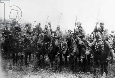 Indian Cavalry fighting with the British Army, World War One