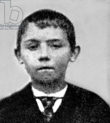 Adolf Hitler (1889-1945) as a child, 1899