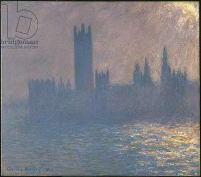 Houses of Parliament, Effect of Sunlight, 1903 (oil on canvas)