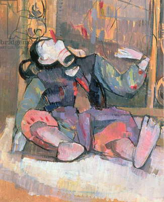 Thai Puppet With Mirror, 1989 (oil on canvas)