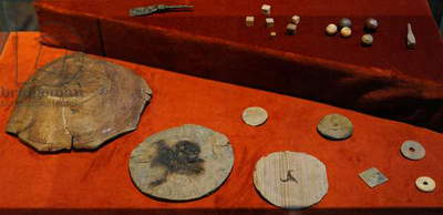 Different objects with the mark of owner, Medieval history, Scandinavia