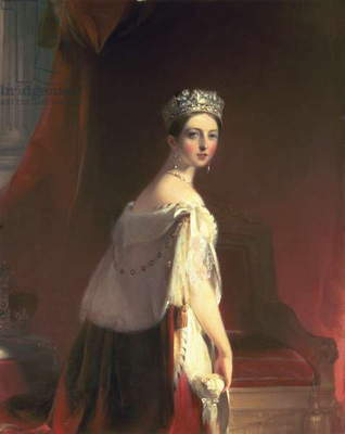 Queen Victoria, 1838 (oil on canvas)