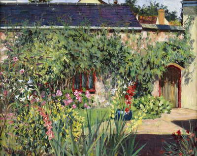 Summer Garden, 2009 (oil on canvas)