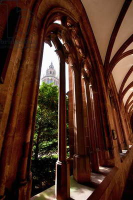 Arches of the Corridor Along the Cloister in the Mainzer Dom (Mainz Cathedral Or St. Martin's Cathedral), Mainz, Germany (photo)
