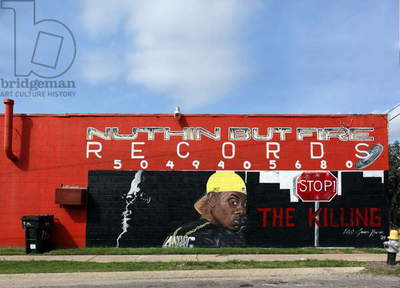 Nuthin But Fire Records mural, New Orleans, Louisiana 2006 (photo)