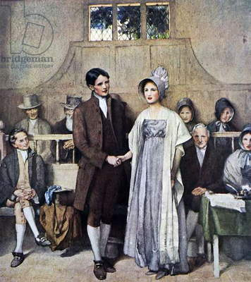 A Quaker Wedding (Love and Loyalty), 1930
