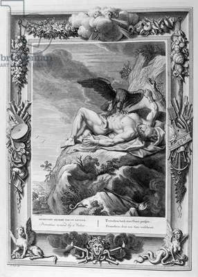 Prometheus devoured by the eagle, 1754