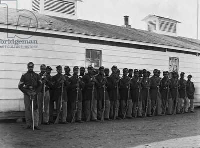 Colored Infantry 1863 (photo)
