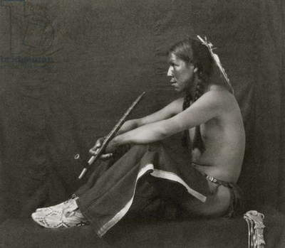 The Peace pipe 1914 (photo)