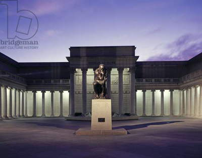 Thinker at the Legion of Honor (photo)