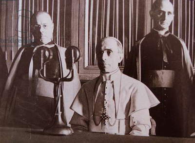 Head of the Catholic Church Pope Pius XII